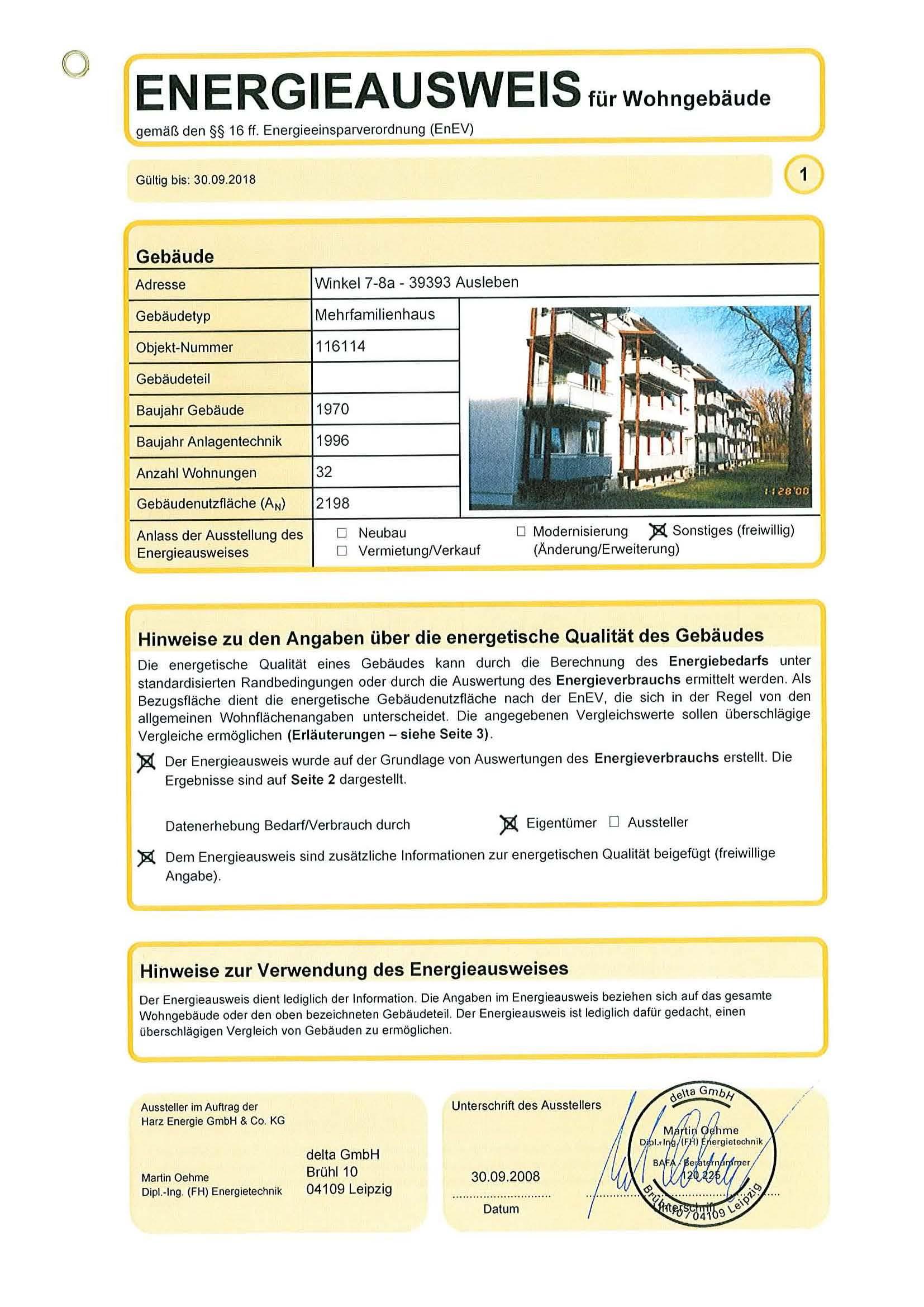 Wohnung/Mietwohnung in Ausleben